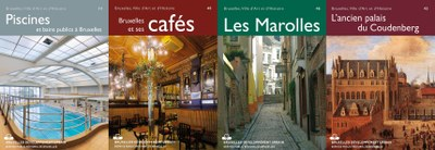 4 couvertures des publications disponibles en epub