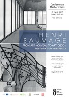 Henri Sauvage, from Art Nouveau to Art Déco