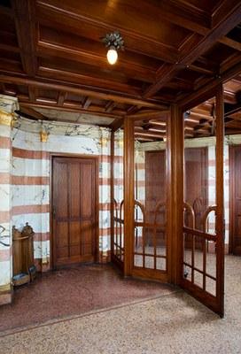 Hôtel Van Eetvelde. Hall d'entrée. © KIK-IRPA_urban.brussels