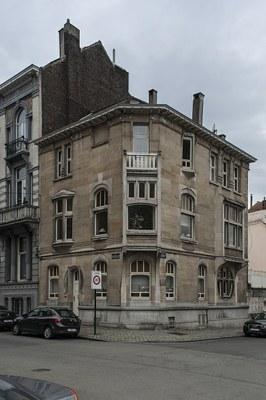 Façade avant restauration (photo 03/2018) © urban.brussels