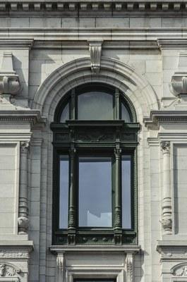 Châssis restauré de la façade avant