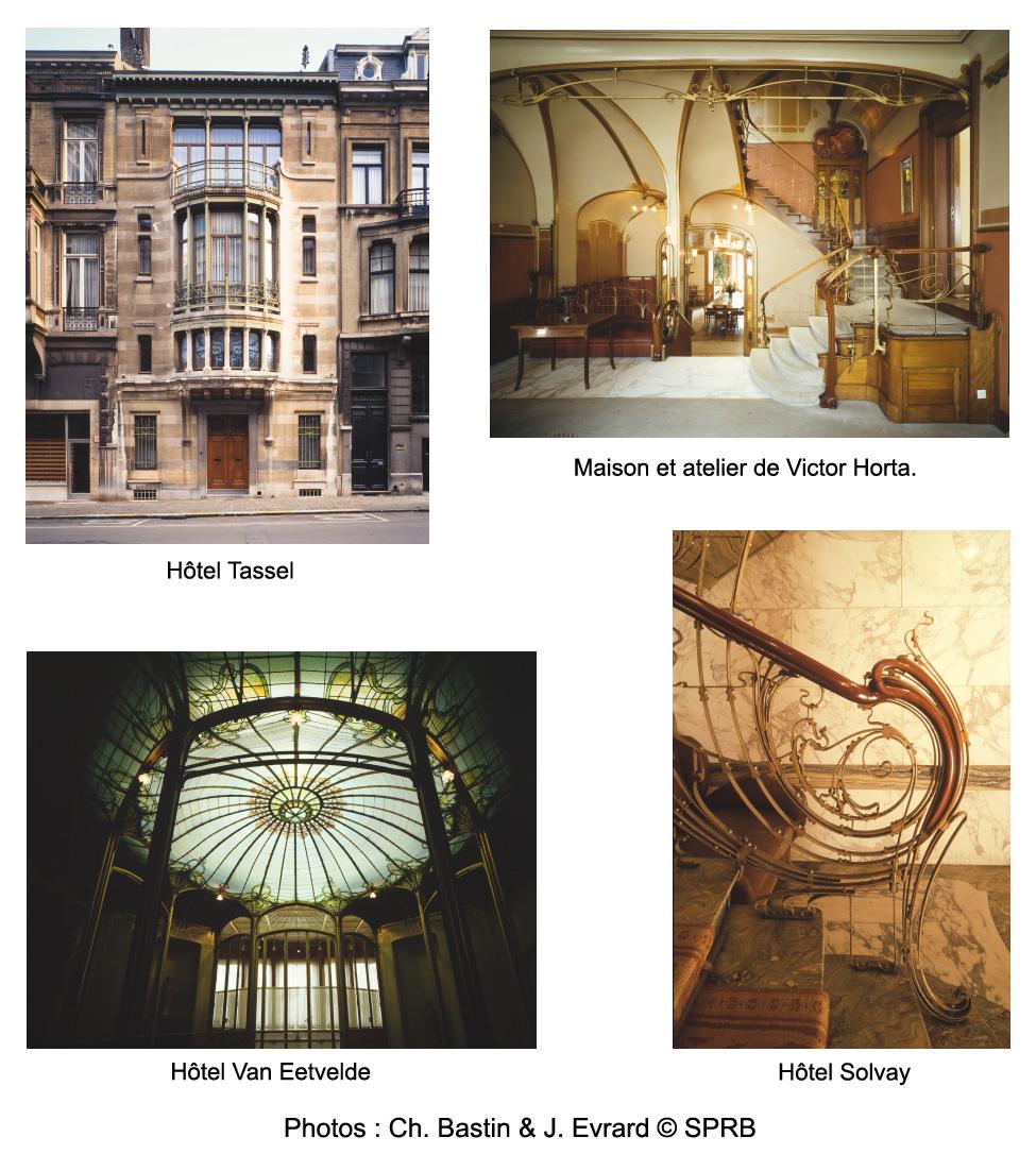 Habitations majeures de Victor Horta