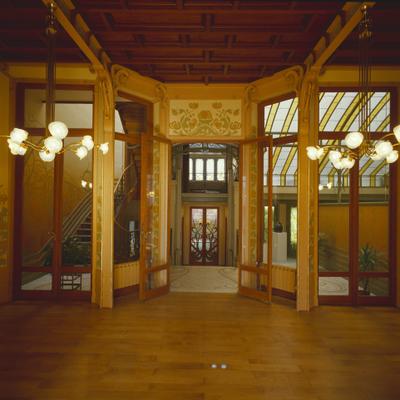 Hôtel Tassel - Intérieur