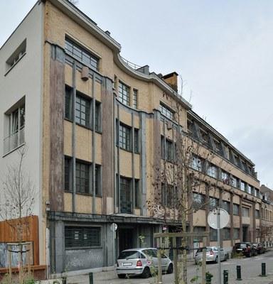 Rue Marconistraat 123-127, La Magnéto Belge (2016)
