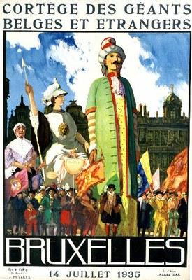 Géants. Affiche de 1935