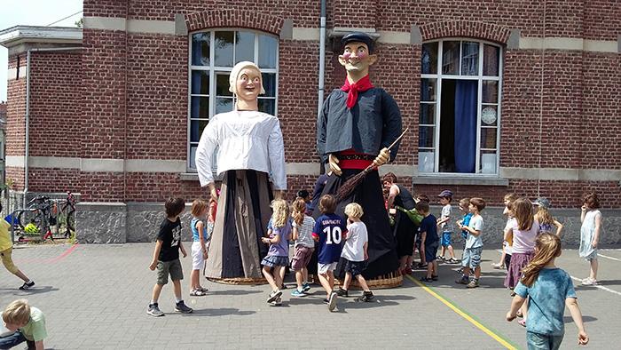 Les géants Mieke et Janneke - © coindubalai.be