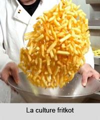 La culture fritkot