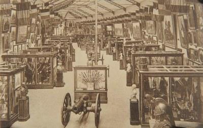 La salle historique du musée de l'Armée, [1923-1927] (coll. Belfius Banque © ARB-SPRB).
