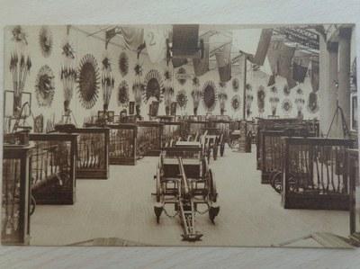La salle technique du Musée de l'Armée, [1923-1927] (coll. Belfius Banque © ARB-SPRB).