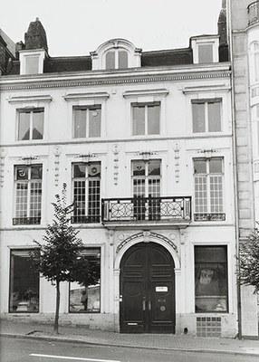 Façade du n°9 rue d'Assaut