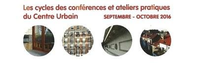 Conférences et ateliers CU 2016