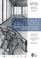 Henri Sauvage, from Art Nouveau to Art Déco