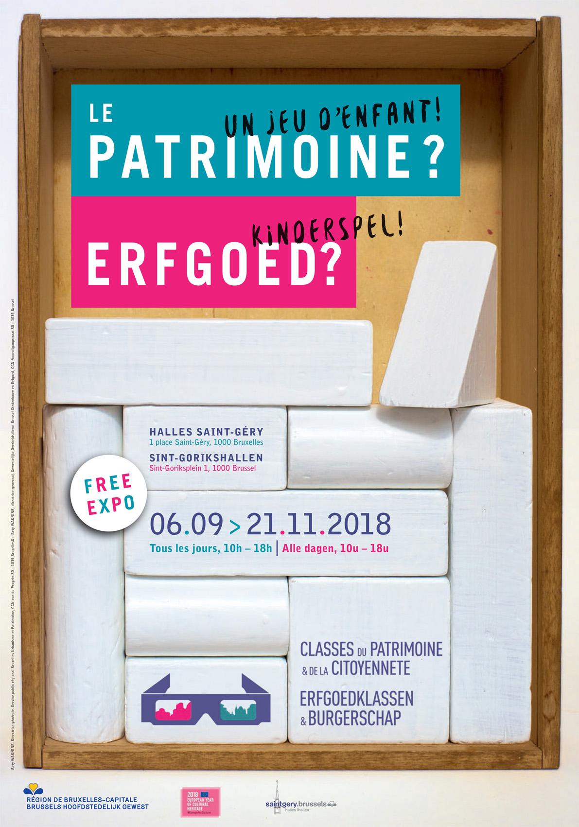 LE PATRIMOINE ? UN JEU D'ENFANT !